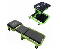 Leżanka warsztatowa - stołek 2w1 Zipper Z...